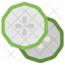 Cucumber Slices Icon