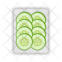 Food Vegetable Cucumber Icon