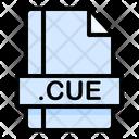 Cue File File Extension Icon