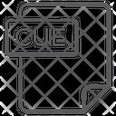 Cue File Document File Icon