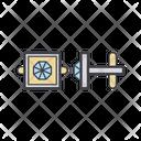 Cufflinks Color Icon