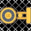 Cufflinks Accessory Jewelry Icon