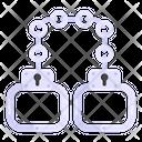 Handcuffs Cuffs Shackles Icon