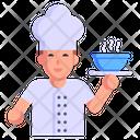Chef Culinarian Cook Icon