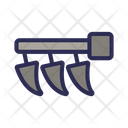 Cultivator Dents Tractor Icon