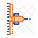 Agronomy Cultivator Trailer Icon