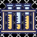 Culture Tube Experiment Lab Accessories Icon