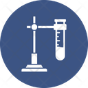 Culture Tube Experiment Research Icon