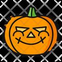 Cunning Pumpkin Halloween Icon