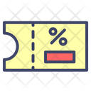 Cuopon Code Discount Icon