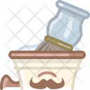 Cup Foam Shaving Icon
