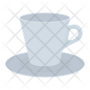 Cup Saucer Coffee Icon