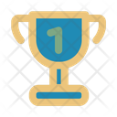 Trophy Success Gold Icon