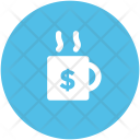 Cup Dollar Tea Icon