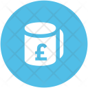 Cup Pound Tea Icon