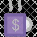Cup Dollar Tea Icon