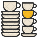 Cup Saucer Kitchenware Icon
