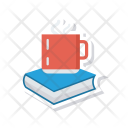 Cup Coffee Book Icon