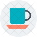 Cup Saucer Hot Icon