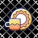 Saucer Set Drink Icon
