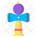 Cup Ball Toys Kids Icon