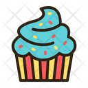 Cup Cake Sweet Dessert Icon