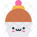 Cup Cake Bakery Breakfast Cake Icon
