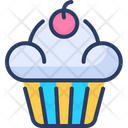 Cup Cake Muffin Food Icon