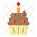 Cup Cake Bakery Icon