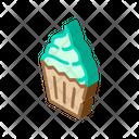 Cake Dessert Isometric Icon