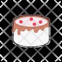 Cake Pancake Strawberry Icon