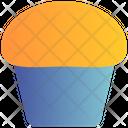 Cup Dessert Scone Icon