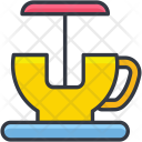 Cup Ride Amusement Icon