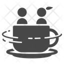 Cup Swing Ride Icon