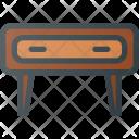Cupboard Nightstand Furniture Icon