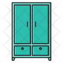 Wardrobe Cupboard Interior Icon