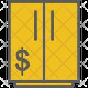 Money Cupboard Flat Icon