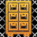 Cupboard Furniture Cabinet Icon