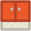 Cupboard Drawers Cabinet Icon