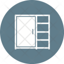 Cupboard Shelves Icon