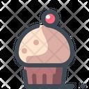 Cupcake Cake Dessert Icon
