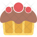 Bakery Food Cupcake Dessert Icon