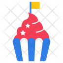 Muffin Cupcake Palm Cake Icon