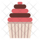 Cupcake Bakery Cake Icon