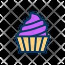 Cupcake Dessert Sweet Icon
