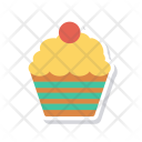 Sweet Muffin Cake Icon