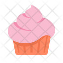 Confectionery Sweet Cupcake Icon