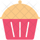 Pan Cake Cupcake Bakery Icon