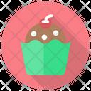 Brownie Cake Cupcake Icon