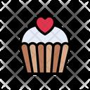 Cupcake Muffin Favorite Icon